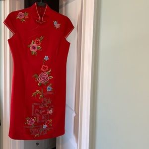 One of a kind, gorgeous Chinese dress.